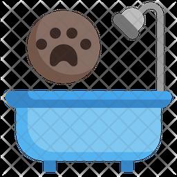 Bath Pet Icon