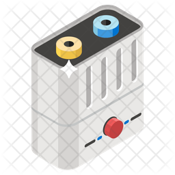 Battery Isometric Icon
