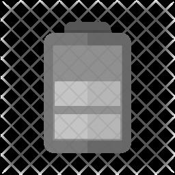 Battery Flat Icon