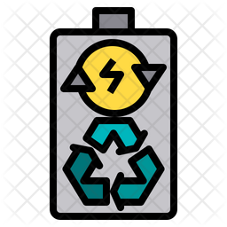 Battery recycle Icon