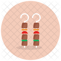 Bbq Skewers Icon