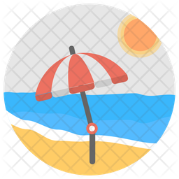 Beach Icon Of Rounded Style Available In Svg Png Eps Ai Icon Fonts