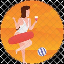 Beach Party Icon