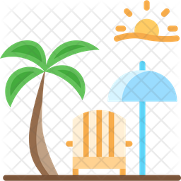 Beach resort Icon