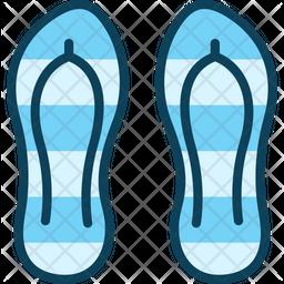 Beach Slipper Icon