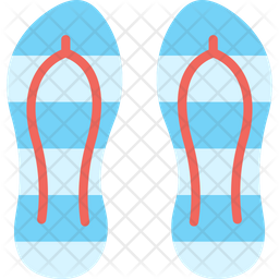 Beach Slipper Icon Of Flat Style Available In Svg Png Eps Ai Icon Fonts
