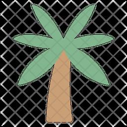 Beach Tree Emoji Icon