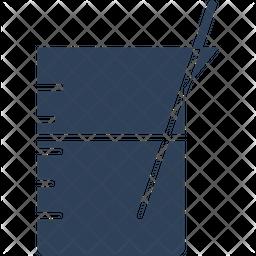 Beaker Glyph Icon
