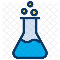 Beaker Colored Outline Icon