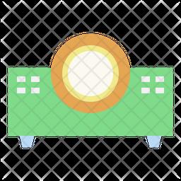 Beamer Flat Icon
