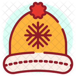 Beanie Colored Outline Icon