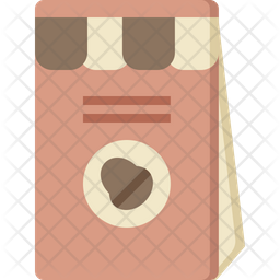 Beans packet Flat Icon