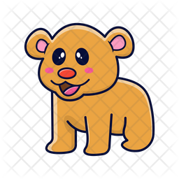 Bear Icon Of Sticker Style Available In Svg Png Eps Ai Icon Fonts