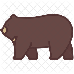 Bear Icon Of Colored Outline Style Available In Svg Png Eps Ai Icon Fonts