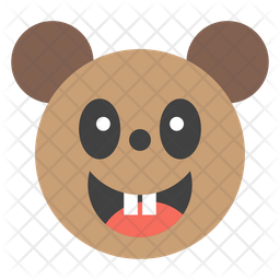 Bear Face Emoji Icon
