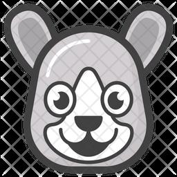 Bear Face Emoji Icon