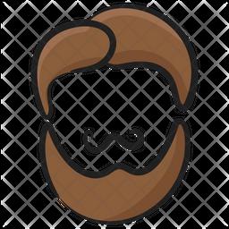 Beard Avatar Icon