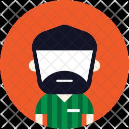 Beard maan Icon