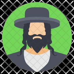 Bearded Man Icon