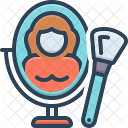 Beauty Colored Outline Icon