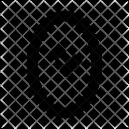 Beauty Glyph Icon