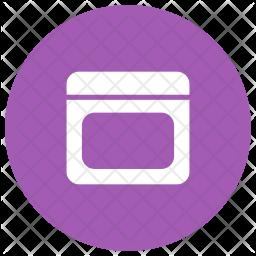 Beauty Cream Glyph Icon