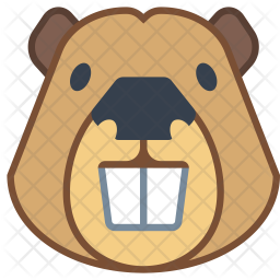 Beaver Icon Of Colored Outline Style Available In Svg Png Eps Ai Icon Fonts