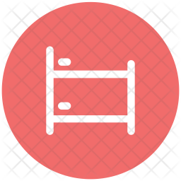 Bed Glyph Icon