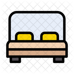 Bed Icon Of Colored Outline Style Available In Svg Png Eps Ai Icon Fonts