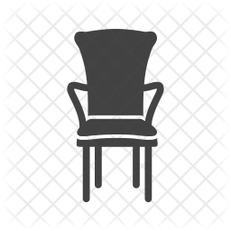 Bedroom chair Icon