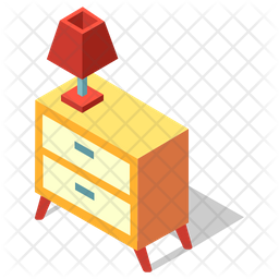 Bedside Drawer Icon