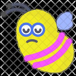 Bee Emoji Icon