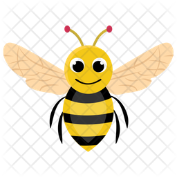 Bee Icon Of Flat Style Available In Svg Png Eps Ai Icon Fonts