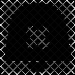 Block notification Glyph Icon