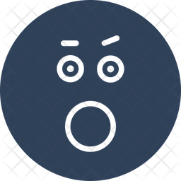 Bemused Face Emoji Icon