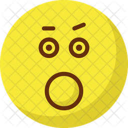 Bemused Face Emoji Icon