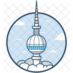 Berlin Ball Tower Icon