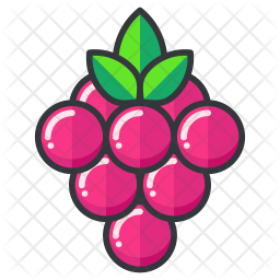 Berries Colored Outline Icon