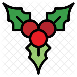 Berry Colored Outline Icon
