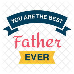 Best Father Logo Icon