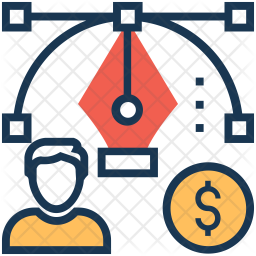 Bezier tool Icon