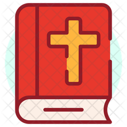 Bible Colored Outline Icon