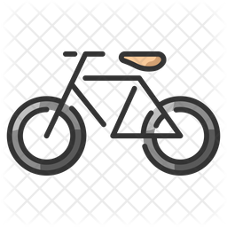 Bicycle Icon Of Colored Outline Style Available In Svg Png Eps Ai Icon Fonts