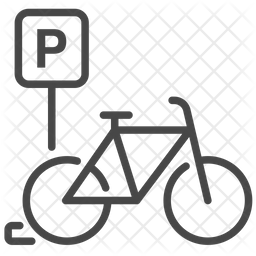 Bicycle Parking Icon