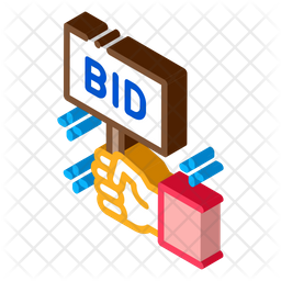 Bid Buying Board Icon