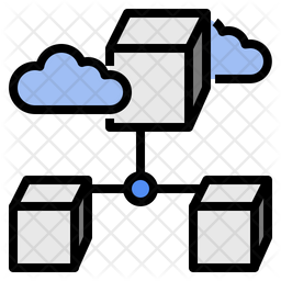 Big Data Icon Quantum Computing