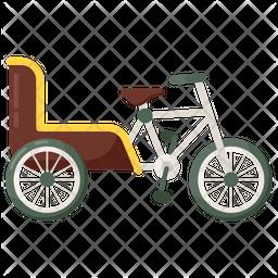 Bike Cart Icon