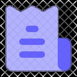 Bill Flat Icon