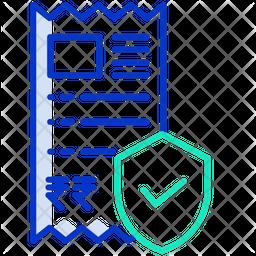 Bills Secure Icon