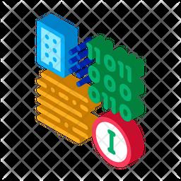 Binary Information Icon
